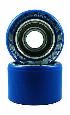 Backspin Deluxe Roller Skate Wheels Blue