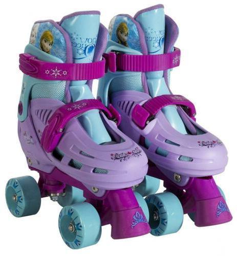 disney frozen classic quad roller skates junior