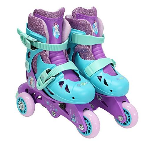 PlayWheels 2-in-1 Skates, Junior Size 6-9