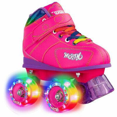 dream light up roller skates by black