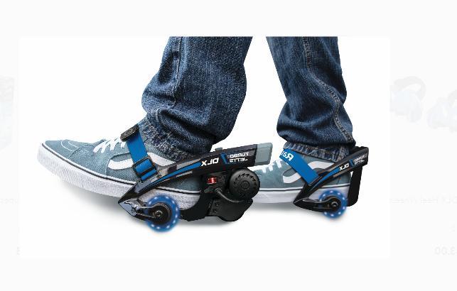 Electric Lighted Heel Turbo Skates Kids Teens Roller Wheel