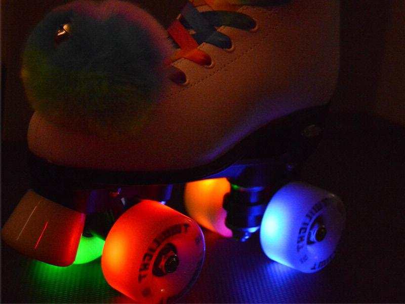 Epic Skates w/ Rainbow LED Up &