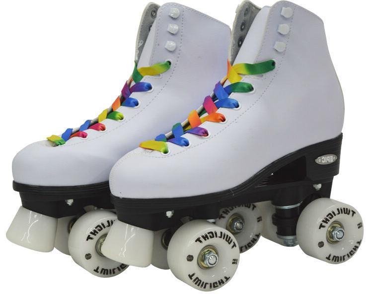 Skates Rainbow LED Up Wheels &