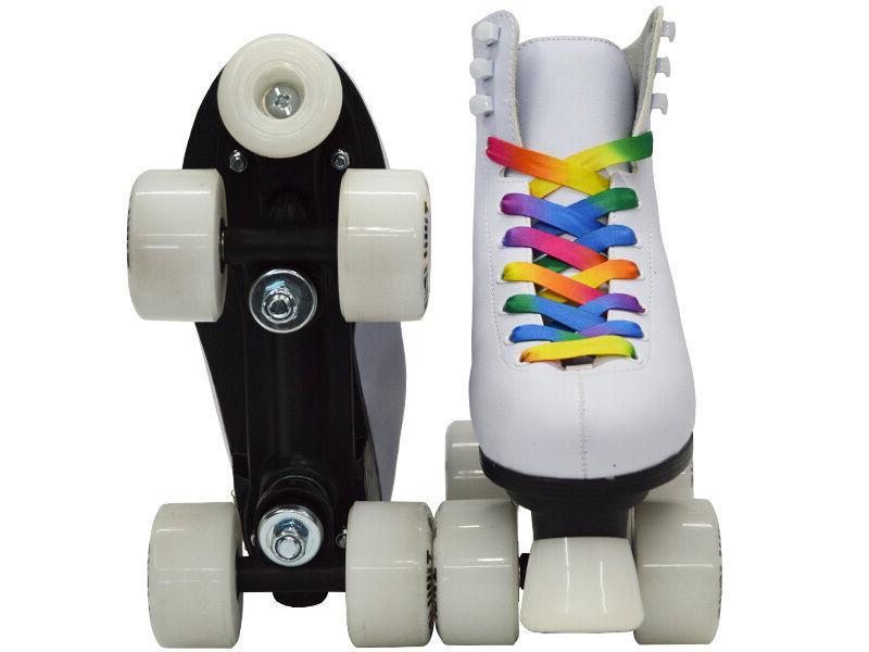 Epic Quad Skates w/ LED Up & PomPoms