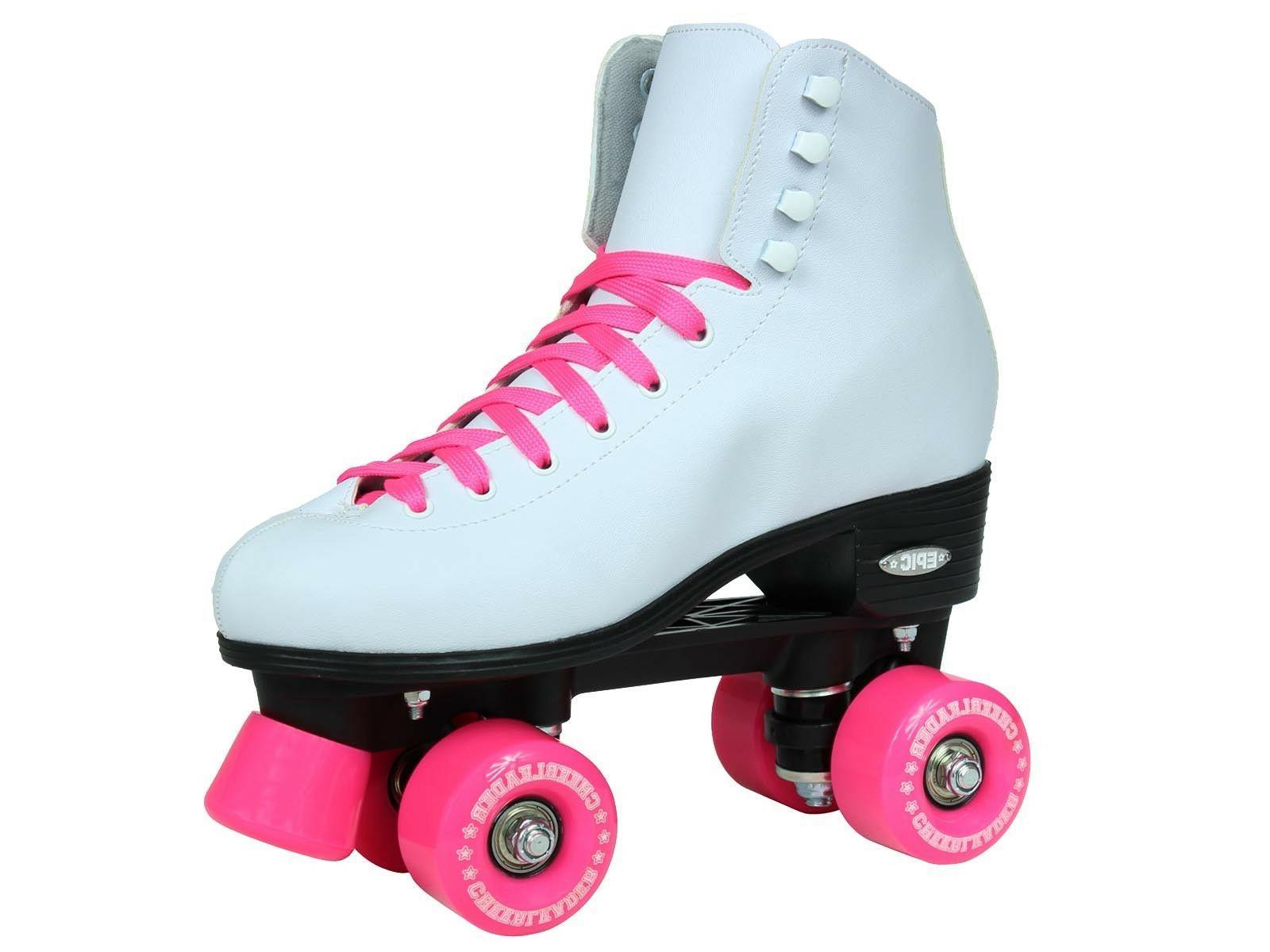 Epic Cheerleader & Pink High-Top Skates