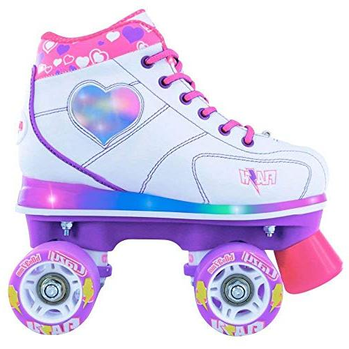 Crazy Roller Skates | Light Skates with Ultra Bright Lights and Flashing Lightning | Patines