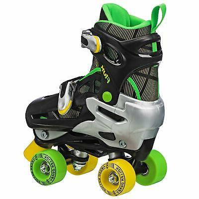 Flux Skate Select, Black/Green