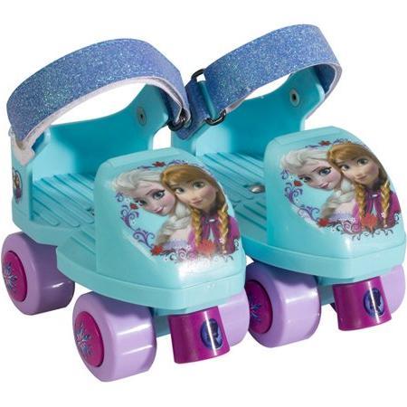 frozen glitter rollerskates