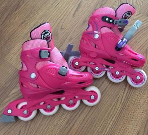 girls crazy skate roller skates sz 11