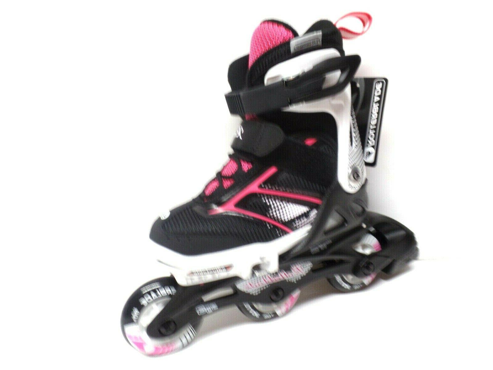 Rollerblade Girls XTG Kids Black/Pink, (11...