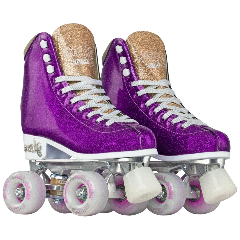 Glam Skates Glitter Quad Purple