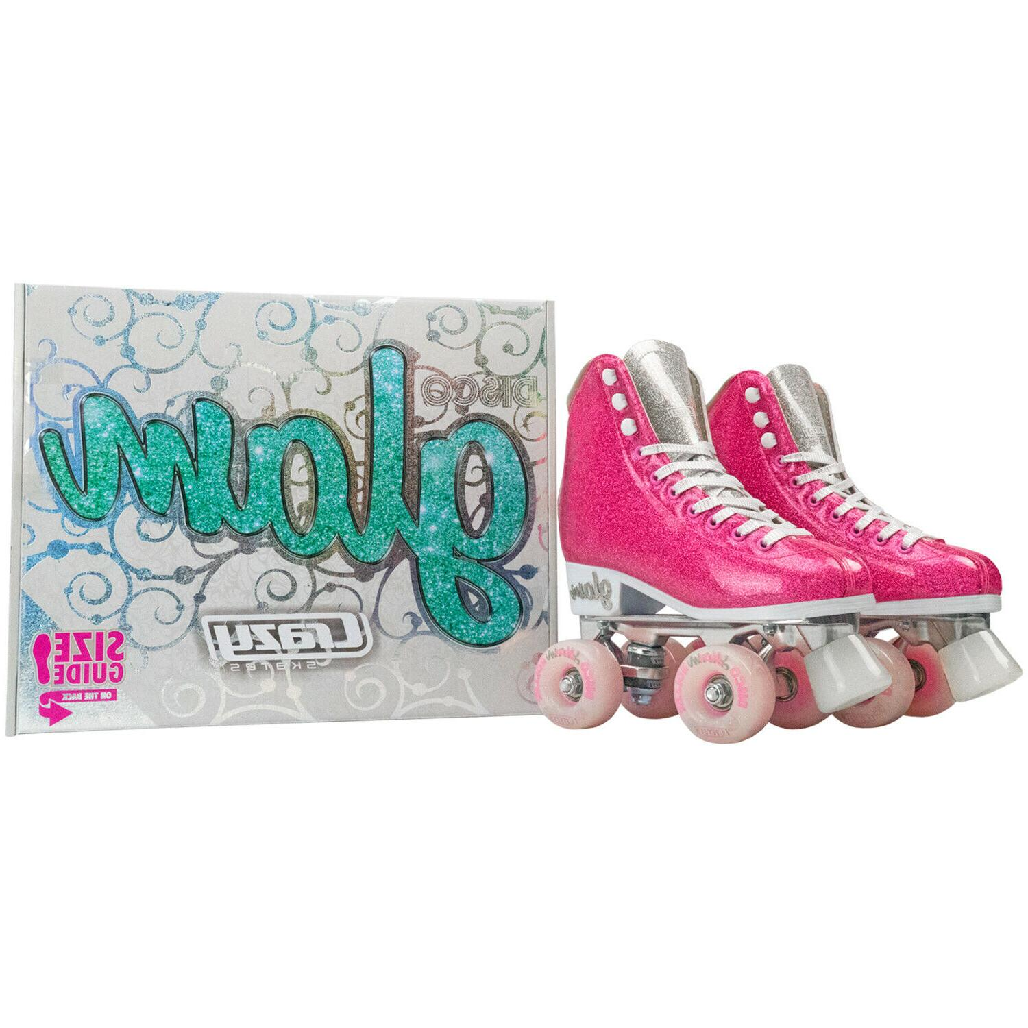 Glam Roller Skates by Crazy Quad for | Pink