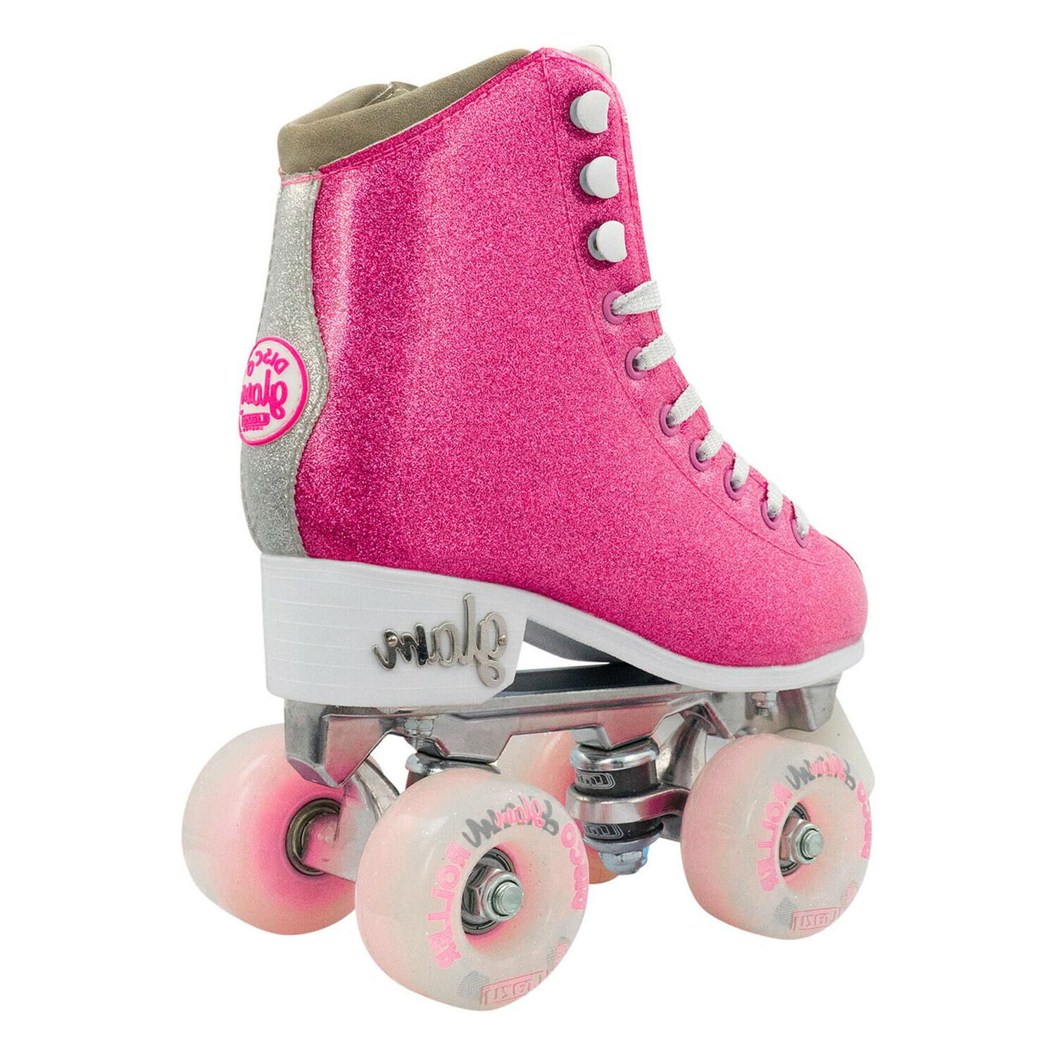 Glam by Crazy Skates Quad Rollerskates for |