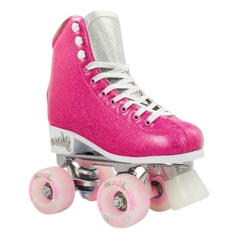 glam roller skates by glitter quad rollerskates