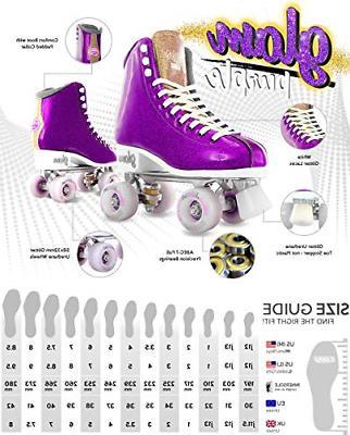Crazy Skates for Women Girls | Dazzling Glitter Sparkle