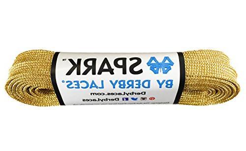 gold spark shoelace