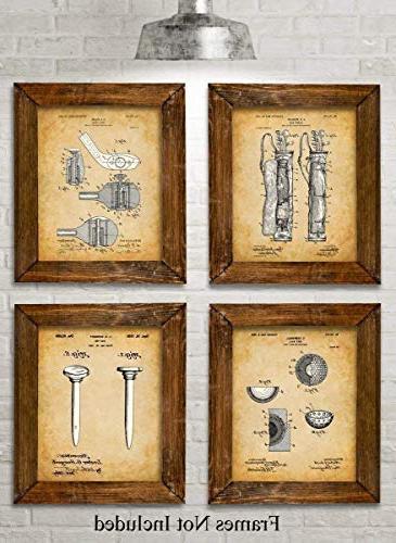 golf patent prints