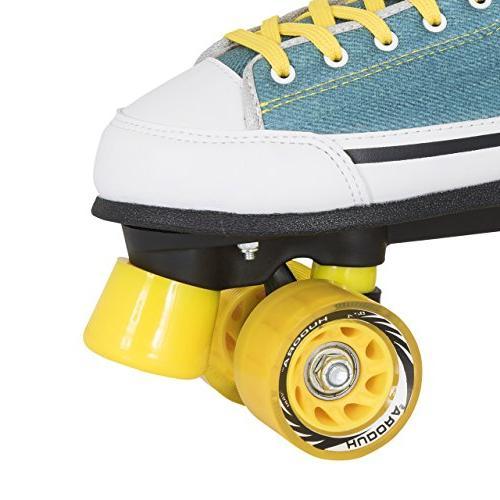 HUDORA Green Denim, Roller Skates Roller 8to
