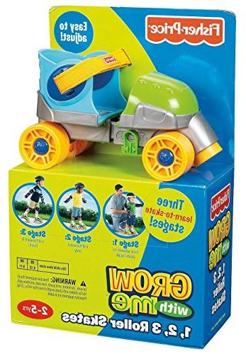 Fisher-Price Grow with Me 1,2,3