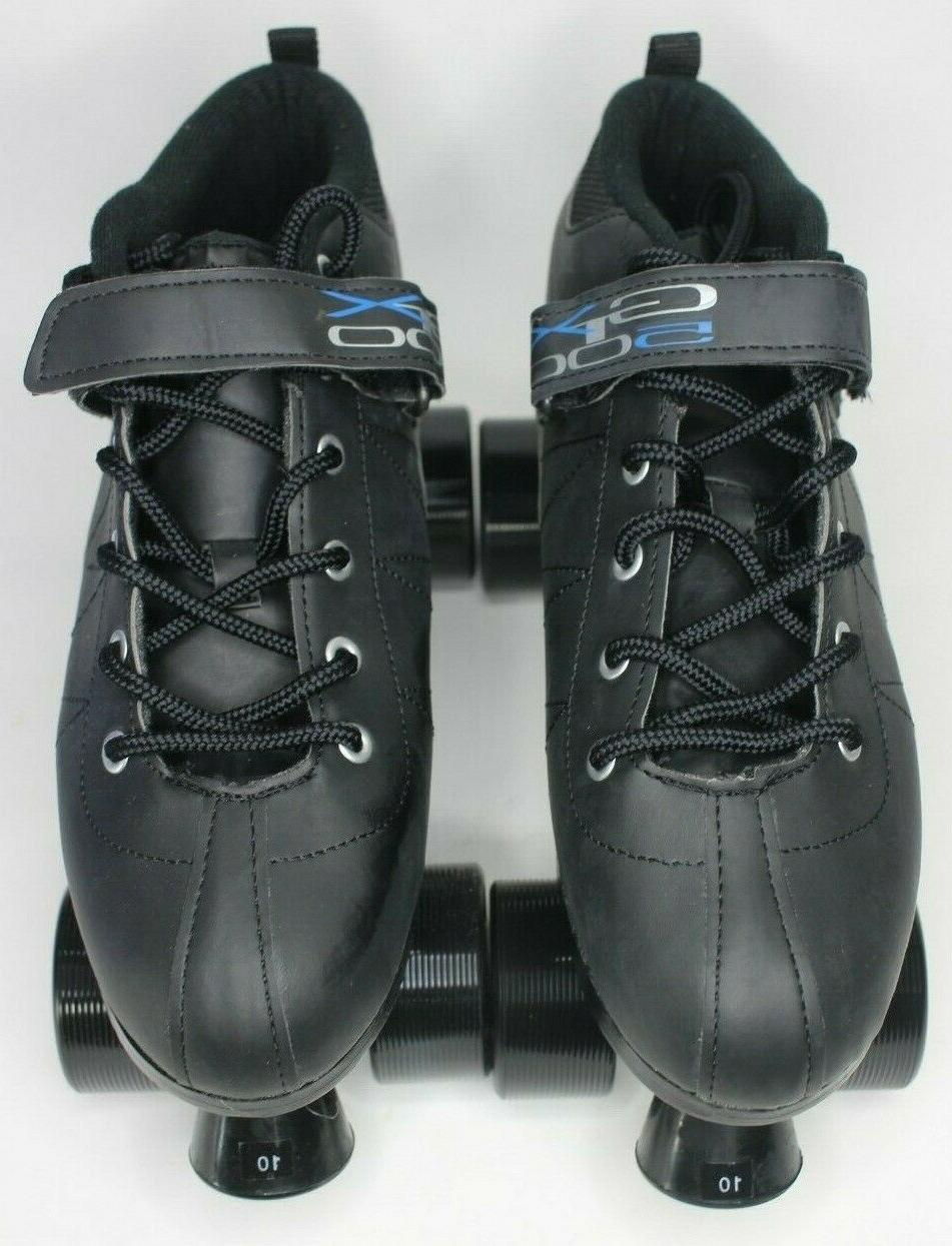 Pacer 10 Skates-Black Model P217B