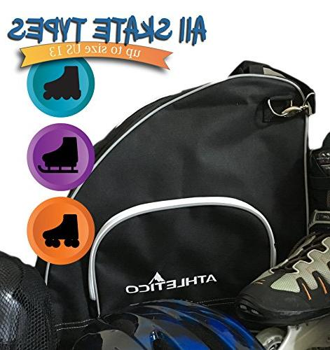 Athletico Skate Bag Bag Skates, Skates Both and