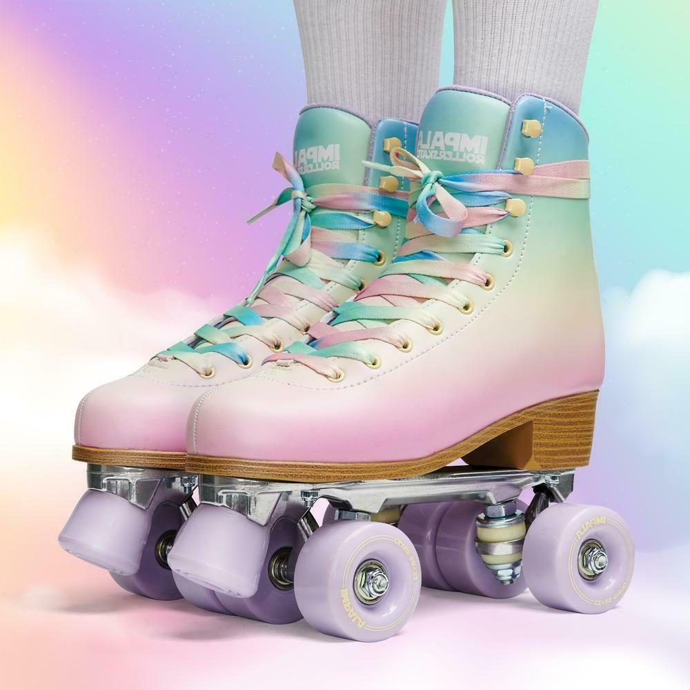 Impala Quad Roller Skates - Pastel Fade US Size 8 - NEW IN H