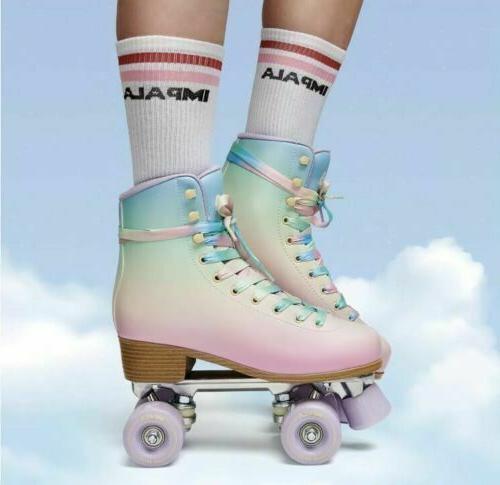 impala quad roller skates pastel fade us