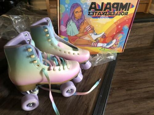 impala roller skates pastel fade us size
