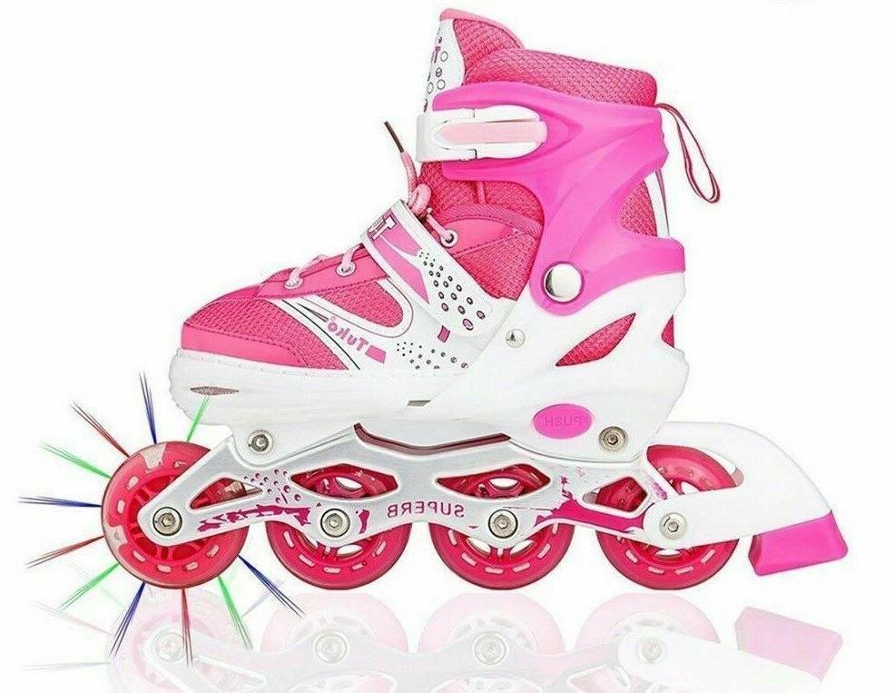 inline skate roller shoes adjustable high speed