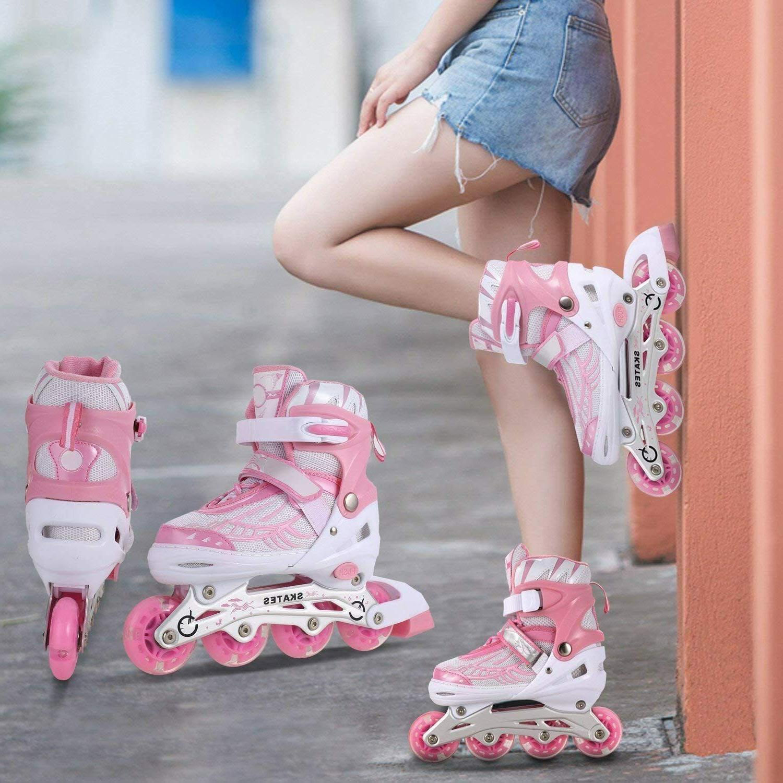 Inline Skates Up Wheels Adjustable Skates