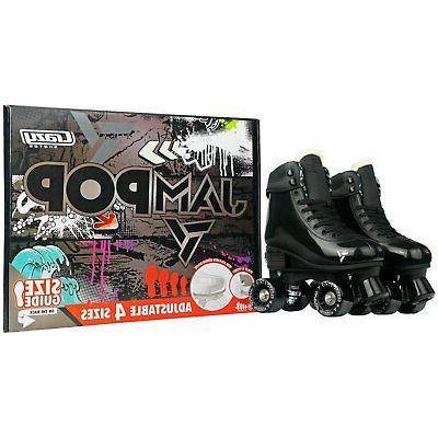 Jam Adjustable Skates Skates | to Fit 4 Shoe