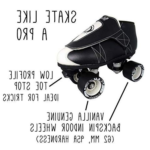 VNLA Jr. Quad Roller Jam Skates