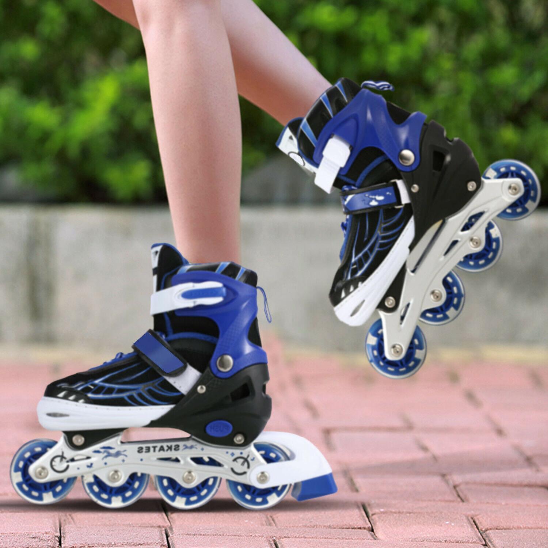 Kids Adjustable Rollerblades Roller Tracer US~
