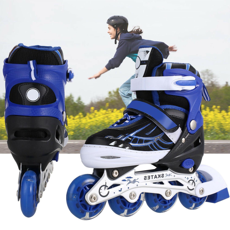 Adjustable Inline Skates Roller Blades Adult or Kid Breathab
