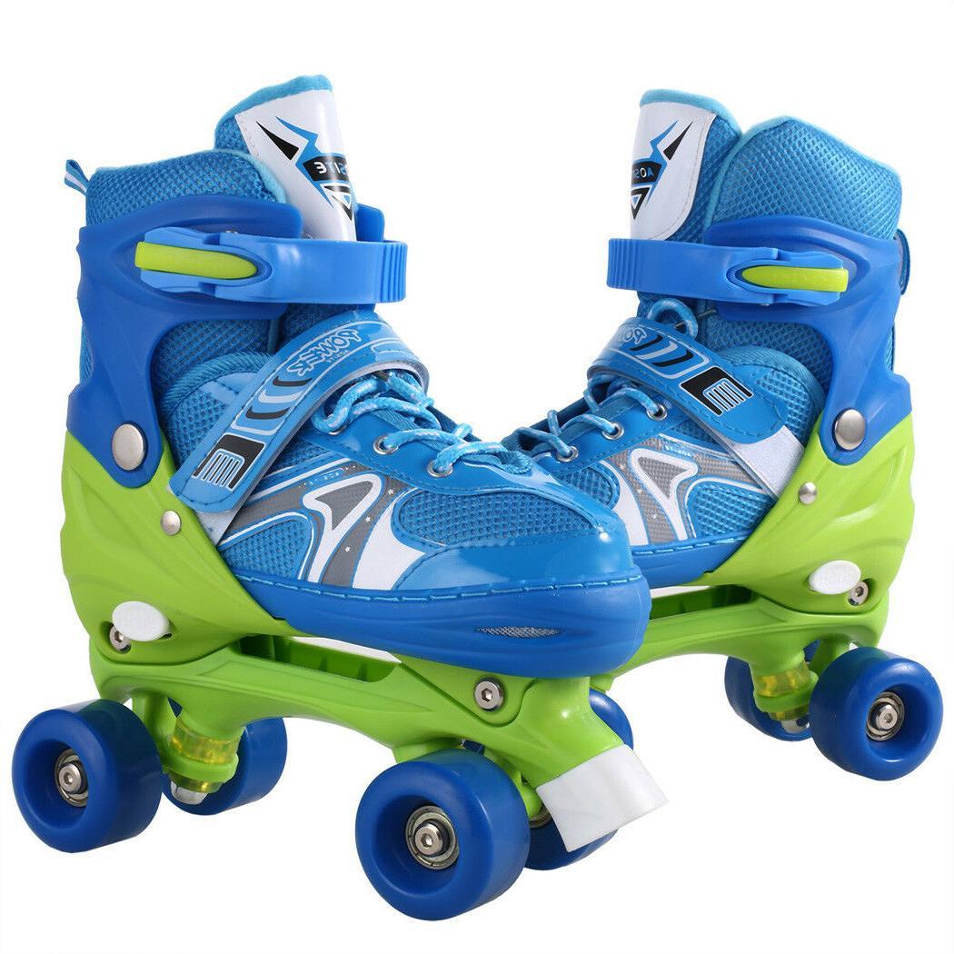 Kids Inline Skates Adjustable Roller Blades Skate for Girl S/M/L