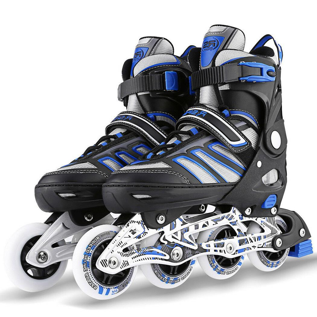 Kids Inline Skates Roller Shoes S/M/L