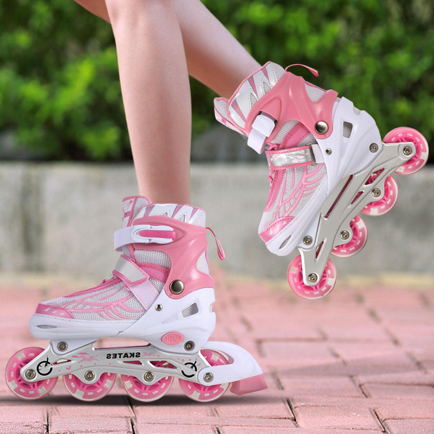 Kids Adjustable Roller Skate for Girl S/M/L