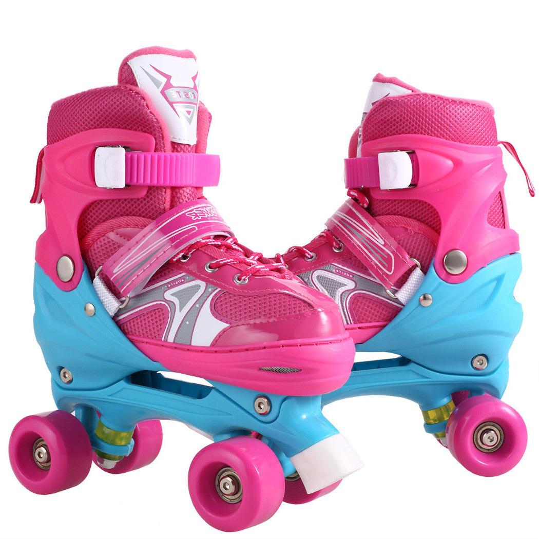 Kids Inline Roller Shoes Skate S/M/L