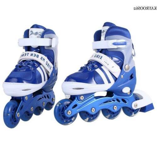 kids roller blades inline skates light up