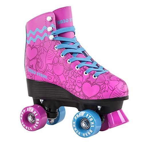 Cal 7 All-Purpose Indoor Outdoor Speedy Roller Skate for Youth and Adults