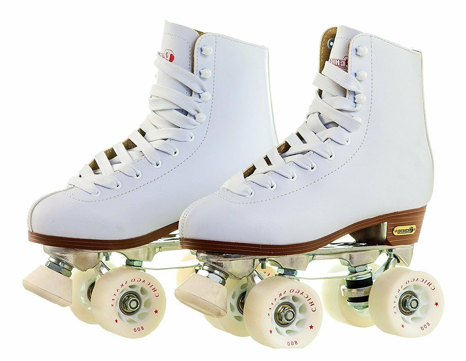 ladies leather lined rink roller skate by