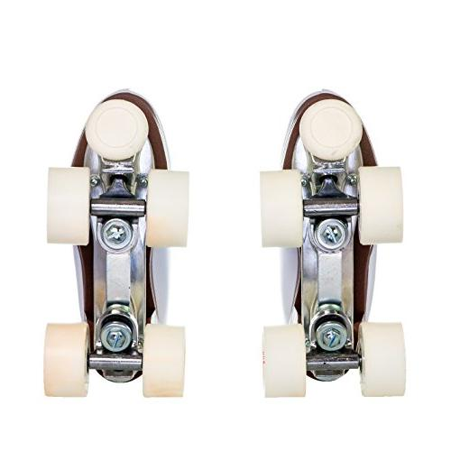 Chicago Leather Rink Roller Skate White