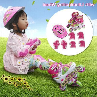 llluminating adjustable pop roller skates adjustable rollerb