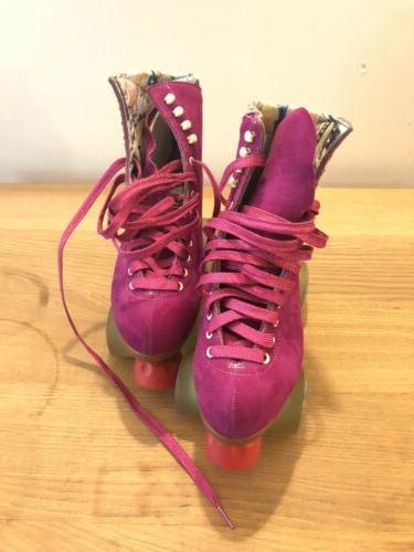Moxi Lolly Roller Skates Fuchsia Size 7.5