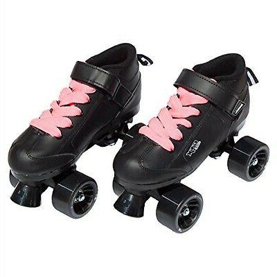 mach black pink speed skates