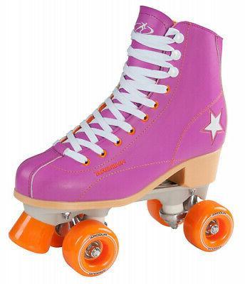 manufacturer size 36 disco quad roller skates