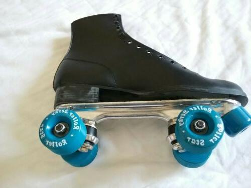 Mens Vintage Skates Leather Size