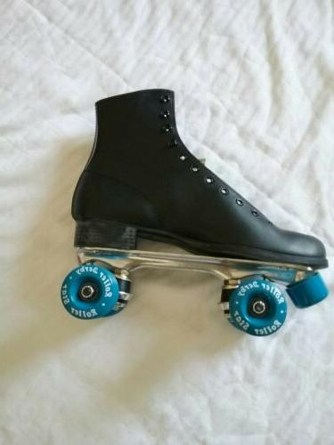 Mens Vintage Roller Skates Leather Derby Size 10 NEW