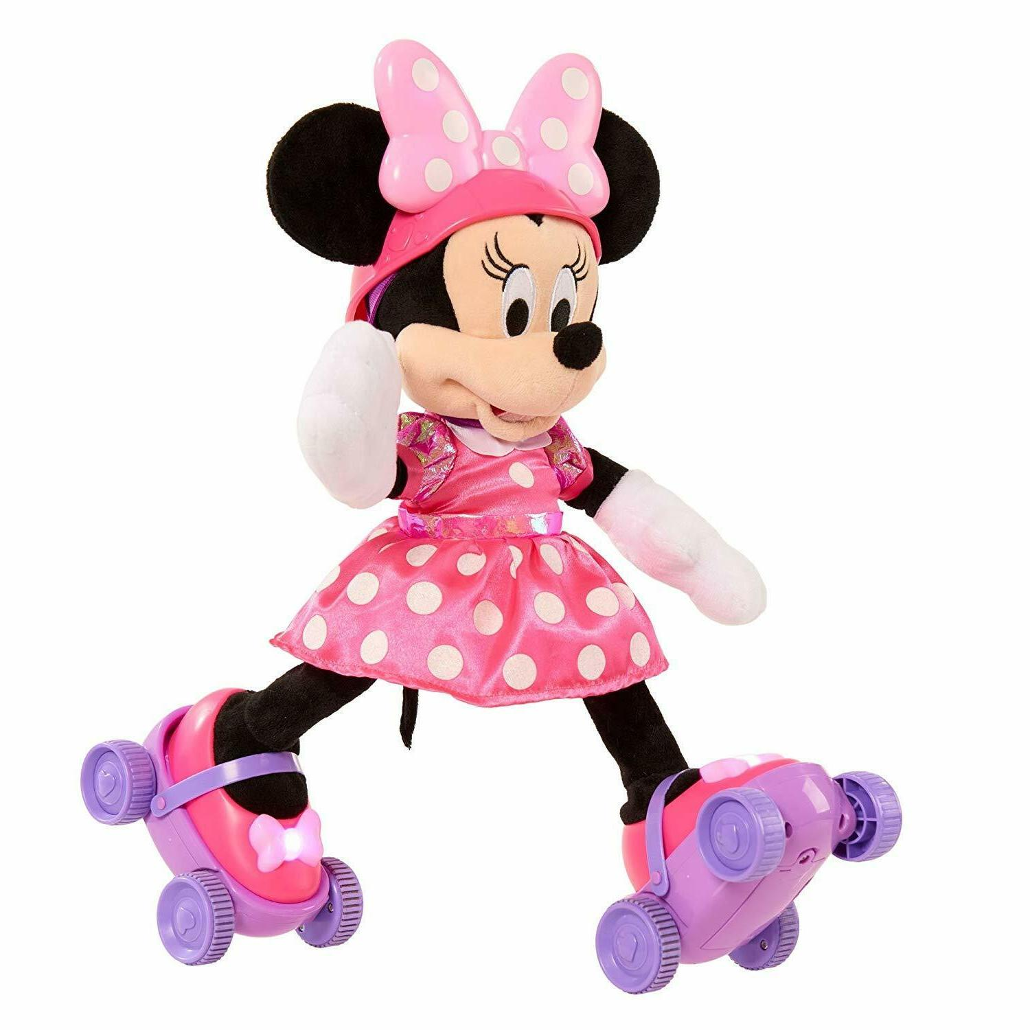 Disney Super Roller Skating-Minnie Mouse Sings and Talks Ind