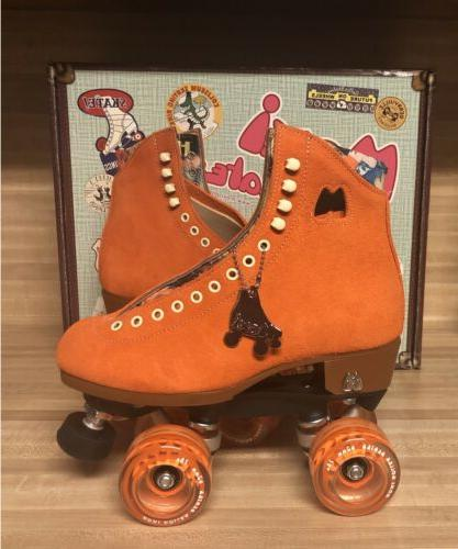 Moxi Lolly Roller Skates Clementine Size 7